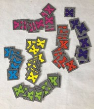 X-Men Under Siege Board Game Replacement Part ROOM CHIPS Pressman 1994 - $7.83