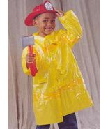 FIRE FIGHTER COAT AND HELMET WITH PLASTIC AXE SIZE  1-2 YEARS - $20.00