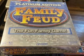 Family Feud Platinum Edition Family Fun Board Game - $12.25
