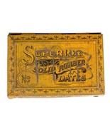 FREE SHIP: Vintage Small Ink Stamp Set in Original Tin Box - $39.74