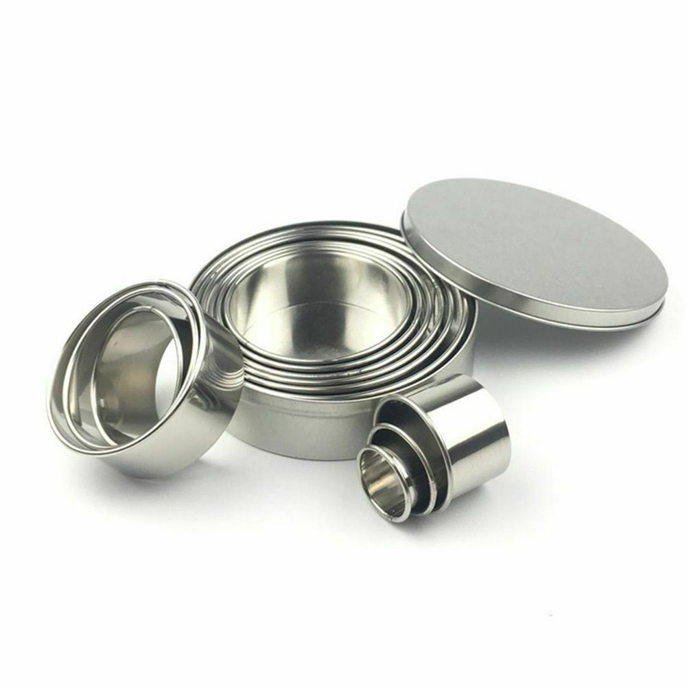Fruit Cookie Cutter Mold Round Shape Box Design Stainless Steel Biscuit Fondant