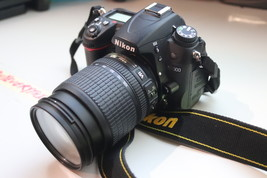 Nikon D D7000 16.2MP Digital SLR Camera With AF-S DX ED VR 18-105mm Lens 4/20 2F - $369.00