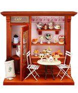 2019 Dollhouse Filled Terrace Cafe 1.794/9 Reutter Shop Miniature  - $321.95