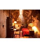 Al Capone Mafia Prison Cell MM Vintage 11x14 Color Mobster Memorabilia P... - $13.95