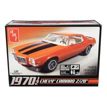 Skill 2 Model Kit 1970 1/2 Chevrolet Camaro Z/28 1/25 Scale Model by AMT AMT635L - $38.99