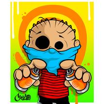 Linus by Ceelo (30x40 giclee print on canvas) - $300.00