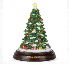 Best Choice Products Pre-Lit Tabletop Rotating Musical Christmas Tree - $40.00