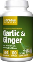 Jarrow Formulas Garlic and Ginger, 100 Capsules (Pack of 2) - $52.85
