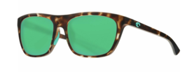Costs Del Mar Cheeca Polarized Sunglasses CHA249 OGMGLP Tortoise/Green G... - $256.41