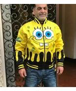 Men's SpongeBob by Looney Tunes Reversible Windbreaker Track Jacket - $175.50