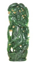 Krishna In Columbian Green Jade - 1118 gms - $490.00