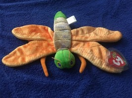 Ty Beanie Babies 2000 Glow Dragonfly Tag Excellent PE - £2.57 GBP acbb0257a2a6