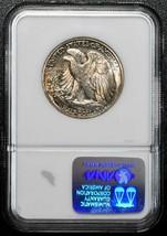 1942S  Walking Liberty Half Dollar 90% Silver Coin NGC MS63 Lot# A 461 image 2
