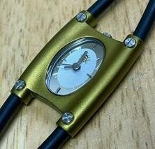 Oui Bee Art USA Citizen Movt Lady Aluminum Analog Quartz Watch Hours~New... - $11.39