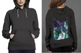 New Popular anima nature vs dark Hoodie Women Black - $29.99