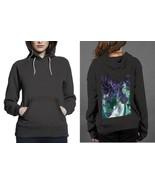 New Popular anima nature vs dark Hoodie Women Black - $29.99
