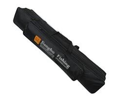 Two Tiers 70 cm Fishing Rod Cases Tubes Fishing Gear Fishing Poles Bags Black?Ra - $20.49