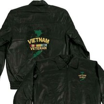 Vietnam Veteran Genuine Leather Jacket - $187.06+