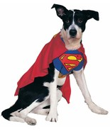 Superman DC Comics Superhero Fancy Dress Up Halloween Pet Dog Cat Costume - $18.66