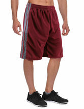 Men's Athletic Mesh Workout Fitness Training Basketball Sports Gym Shorts image 7