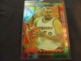 1993-94 Topps Finest  #7 Victor Alexander -Golden State Warriors- - $3.12
