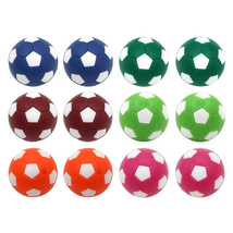 Table Soccer Foosballs Replacement Balls Mini Multicolor 36mm Official F... - $10.30