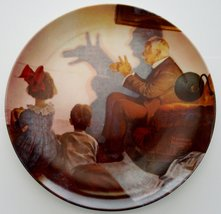 Norman Rockwell The Shadow Artist Limited Edition Collector Plate - 8 1/... - $27.72