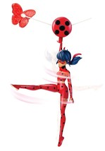 "Zip Line Ladybug Action Doll 7.5"" Miraculous Iconic Move Children Kids P... - $20.00"