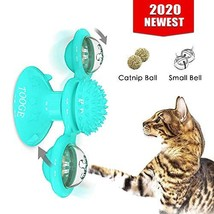 TOOGE Windmill Cat Toy Turntable Teasing Interactive Cat Toys for Indoor Cats wi