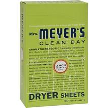 Mrs. Meyer's Dryer Sheets - Lemon Verbena - 80 ... - $9.99