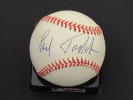 PAUL TAGLIABUE NFL COMMISSIONER SIGNED AUTO VINTAGE BASEBALL JSA AUTHENTIC - $148.49