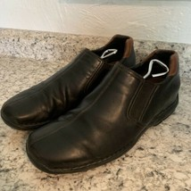 COLE HAAN casual dress Driving Loafer Slip On Black Leather Mens Sz 12 - $39.55