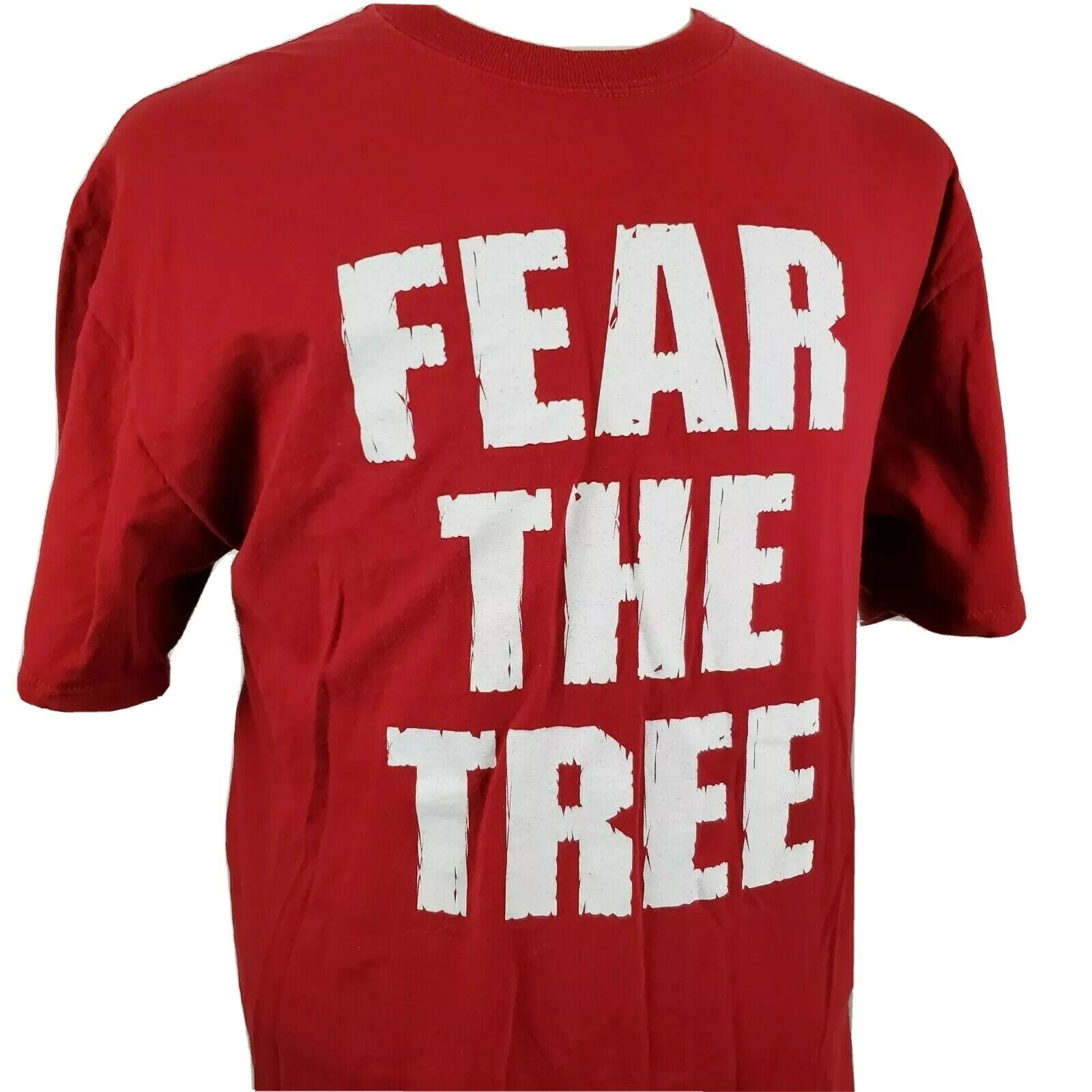 Stanford Fear the Tree T-Shirt XL Double Sided Red Jansport PAC 12 NCAA Cardinal - $17.99