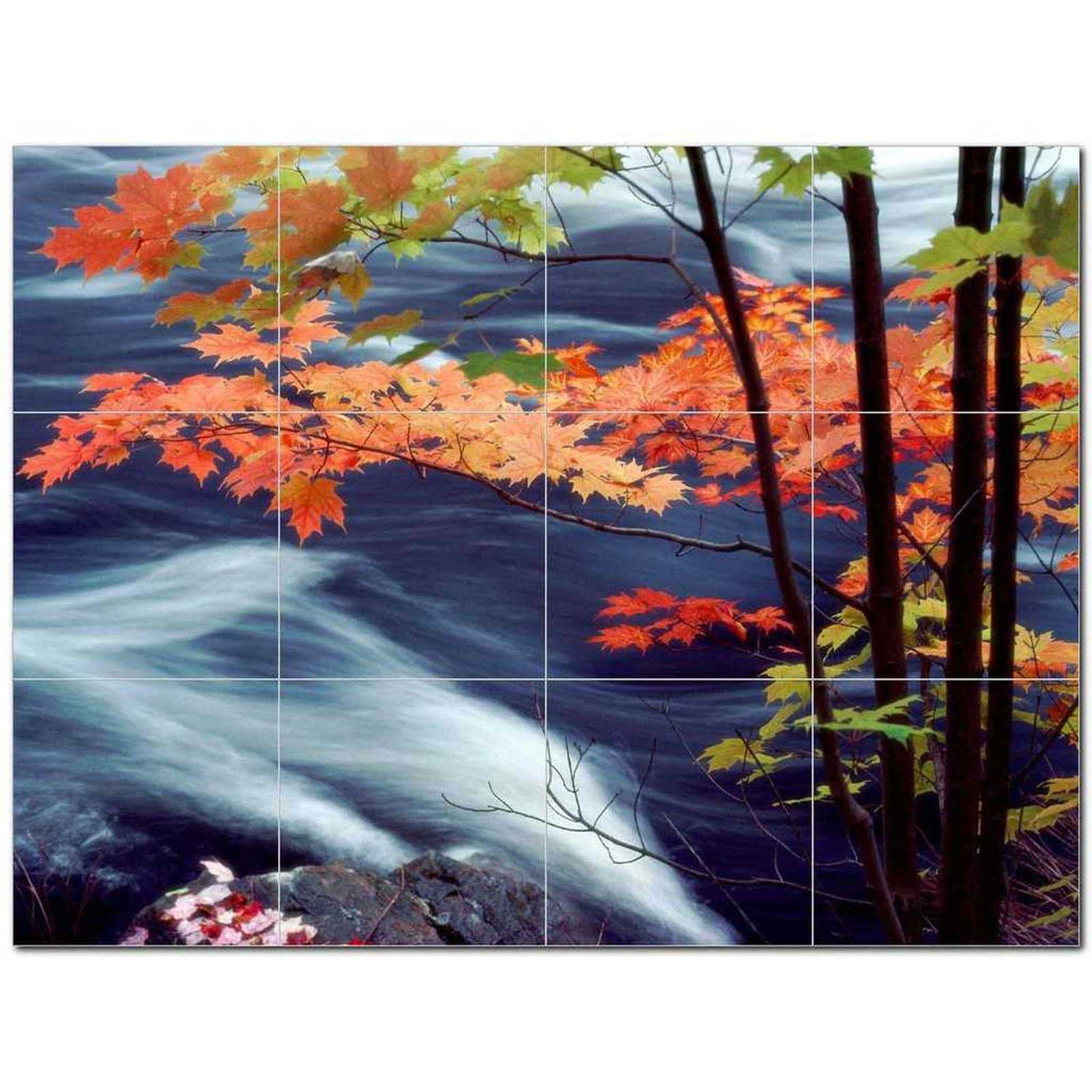 Primary image for River Picture Ceramic Tile Mural Kitchen Backsplash Bathroom Shower BAZ405742