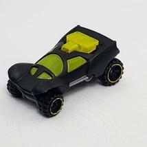 Rare 2012 Black Neon Green Yellow McDonald's Mattel Hot Wheels Toy Car D'Kar - $16.66