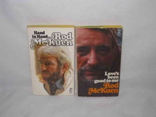 Rod McKuen Hand In Hand Love's Been Good To Me Bi Plane Books Paperbacks