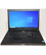 Dell Precision M6800 17 Intel Core i7-4940MX NVIDIA Quadro K4100M 32GB D... - $749.00