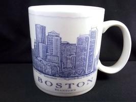Starbucks Architect Series coffee mug BOSTON Beantown 2010 18 oz - $22.74