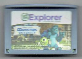 Leapfrog Explorer Disney Monsters University Game Cartridge Educational - $9.50