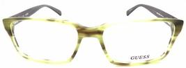 GUESS GU1843 GRN Men's Eyeglasses Frames 55-17-145 Matte Green + Case image 2