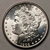 1902O MORGAN SILVER $1 DOLLAR Coin Lot# 519-34
