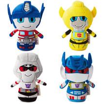 Transformers itty Bitty bittys Hallmark Set of 4 - Hasbro Autobots Decep... - $48.99