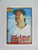 Tim Drummond Minnesota Twins 1991 Topps Baseball Card 46 - $0.98