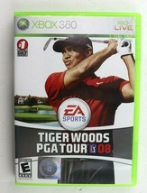 Tiger Woods PGA Tour 08 (Microsoft Xbox 360, 2007) Complete Tested - $4.95
