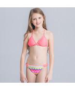 Summer Child Kids Girls Bikini Swimwear Set Swimsuit Bathing Suit Beachw... - $11.30