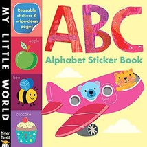 ABC Alphabet Sticker Book My Little World - $5.32