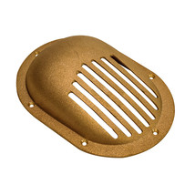 "GROCO Bronze Clam Shell Style Hull Strainer w/Mount Ring f/Up To 1"" Thru... - $53.00"