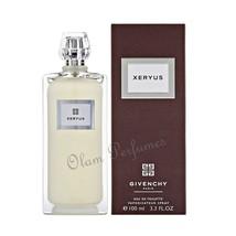 Givenchy Xeryus For Men Eau de Toilette Spray 3.3oz 100ml * New in Box - $44.09