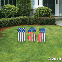 Plastic USA Yard Decoration, 3 Per Order - €21,03 EUR