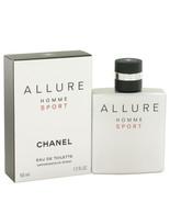 Allure Sport By Chanel Eau De Toilette Spray 1.7 Oz For Men - $109.73